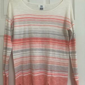 Lightweight stripped sweater